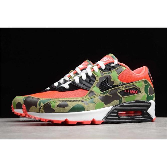 2019 Männer Nike air max airmax 90s Schuhe Designer Atmos 90 Reverse-Ente Camo Rot aus Sneakers 90 Trainers Laufen klassischen Sport Chaussures zapatos