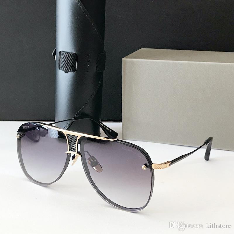 2020 Marco de Aviación de los hombres gafas de sol de diseño de marca de aleación piloto polarizada Gafas de sol para conducir el Hombre Negro