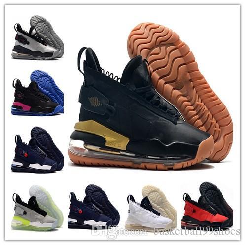 720 في نيون الخضراء والزرقاء Jumpman 23 × مصمم 720 الثلاثي الأسود الصين الأحمر أحذية الرول 720 لون جديد الفضة الأسود الرجال في الهواء الطلق أحذية