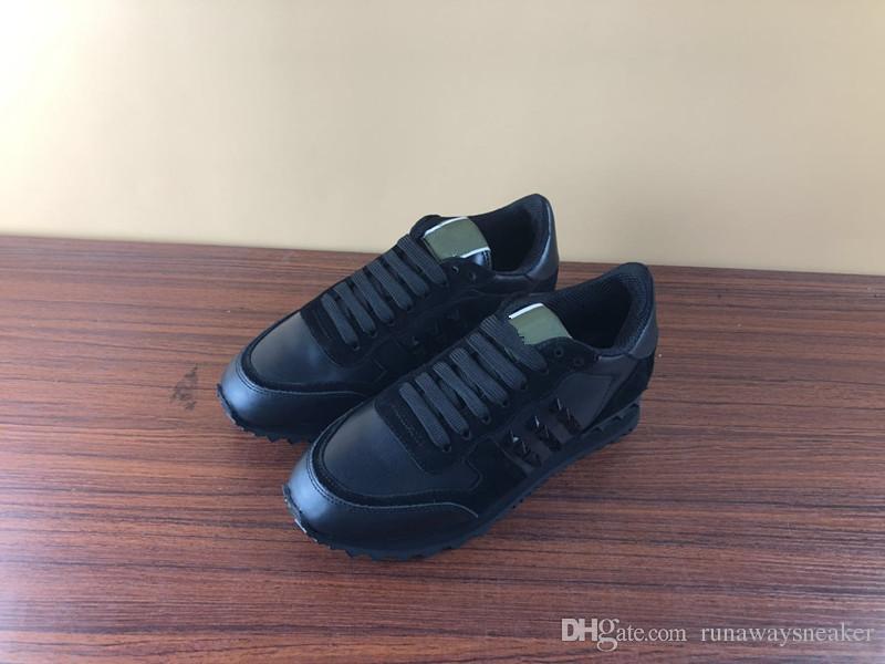 Zapatillas de diseñador Zapatillas de deporte de triple velocidad Zapatillas de deporte de tacón grueso Tejido elástico Zapatillas de deporte de mujer con camuflaje Rockrunner