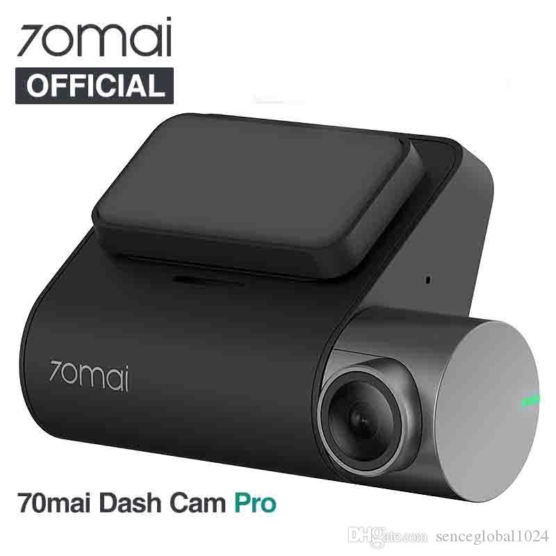 İngilizce sürümü 70mai Dash Cam Pro 1944P hız ve GPS Kamera Ses Kontrol Park Monitör Gece Görüş Wifi 70 Mai Araba DVR Pro koordinatları