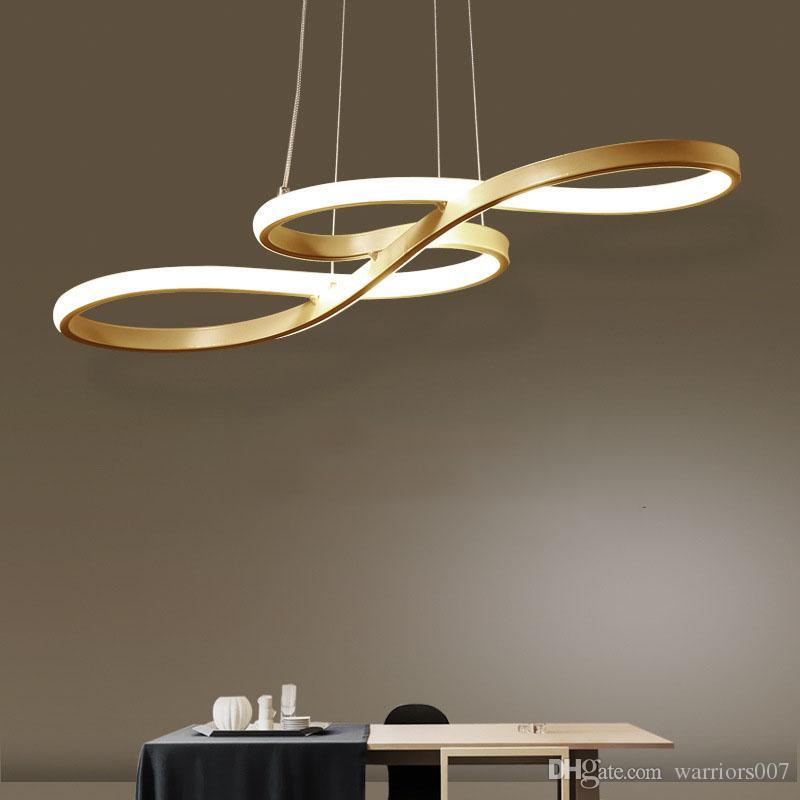 الحديثة أدى مصباح قلادة أسود / أبيض الشمال شنقا ضوء الإبداعية ملاحظة قلادة ضوء ل بار الجدول مطبخ جزيرة غرفة الطعام