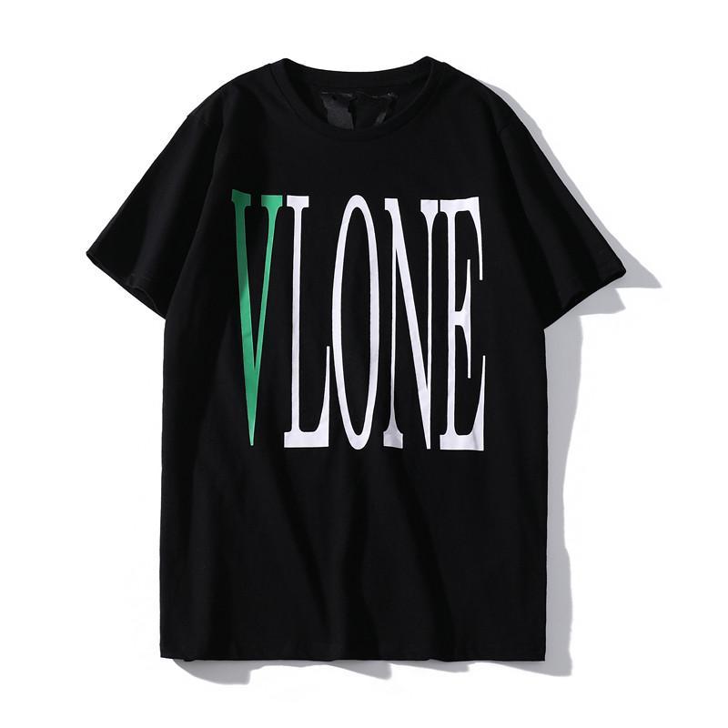 Vlone camiseta Streetwear Vlone vida Hombres Mujeres Camiseta de HIP HOP Vlone para hombre del estilista t shirt camiseta