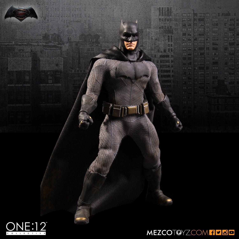 Mezco Dawn of Justice: Batman One: 12 ألعاب BJD الجماعية عالية الجودة للأولاد