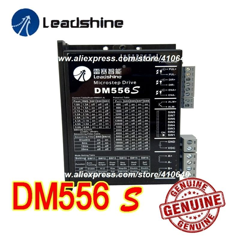Genuine! Leadshine Stepper Motor Drive DM556S Updated From Old Leadshine DM556S with Better Anti-interference Function