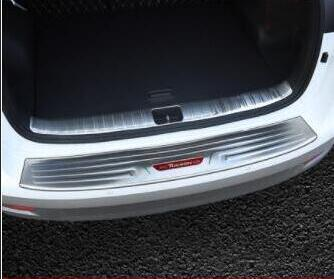 Refonte de 19 Hyunda Tucson Plate Garde arrière de secours Boîte de queue porte Bienvenue Seuil de pédale