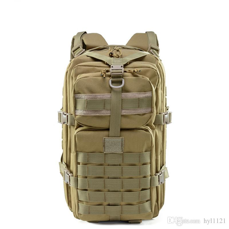 984fe3bc1f7f Camouflage Bag Attack Tactical Backpack Army Fan Outdoor Bag Shoulders  Friend Mountaineering Big Backpack Beach Bags Laptop Backpack From Hyl1121,  ...