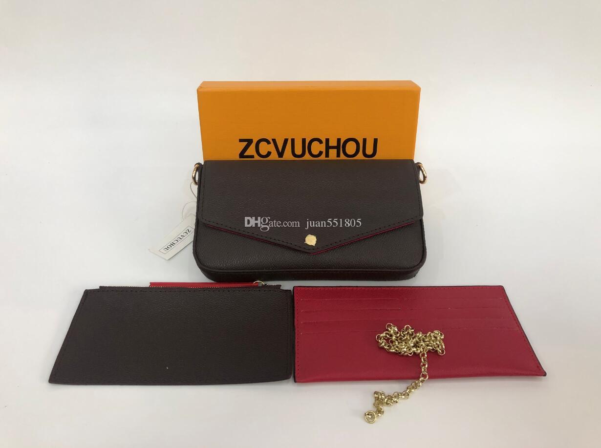 Yeni Lüks Çanta Moda Kadın Tasarımcı Omuz Çantaları Yüksek Kalite Marka Çanta Boyutu 21/11/2 cm Model 61276