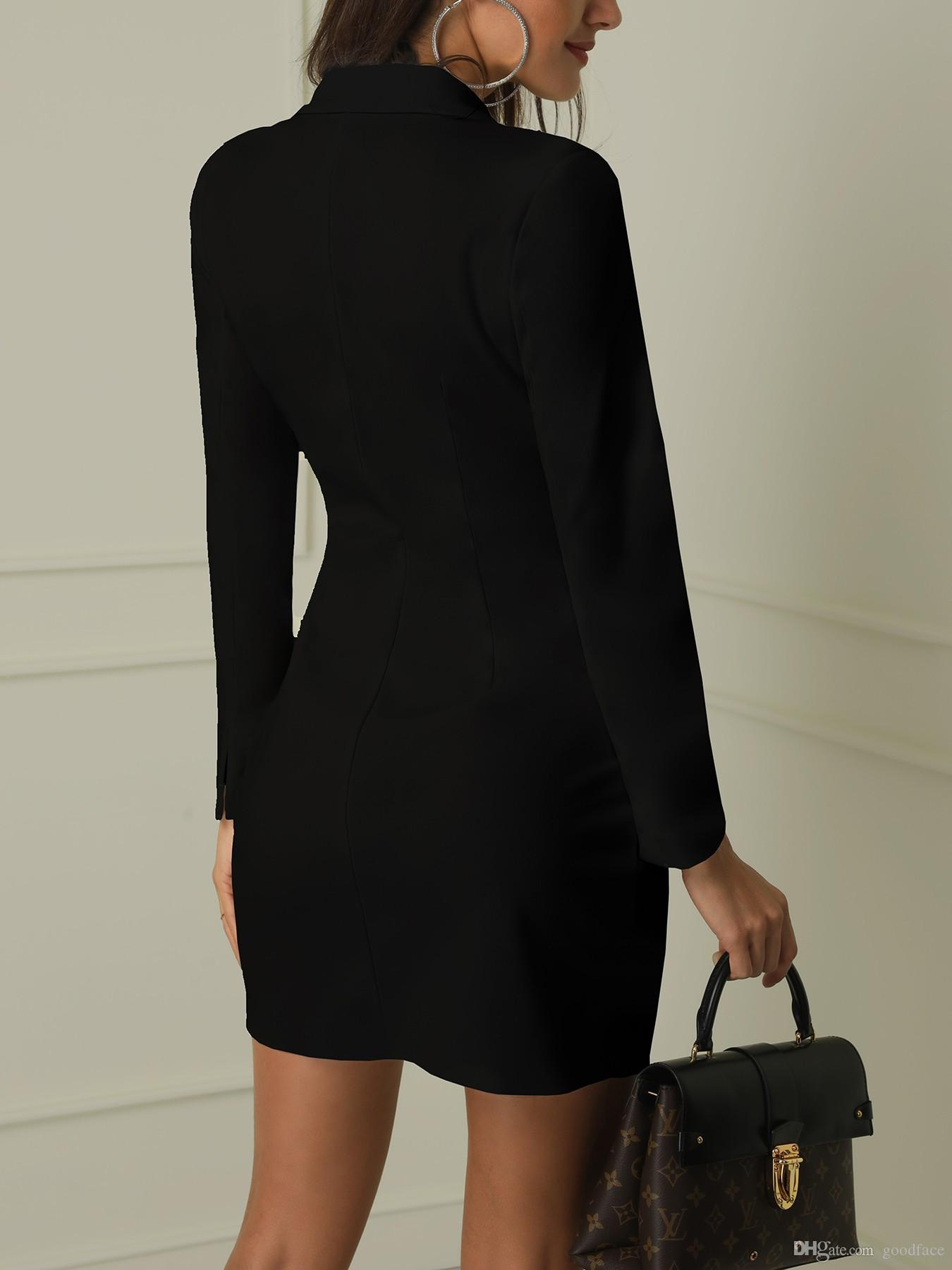 trespassado trench coat sexy pura cor jaqueta fina goodface vestir-construção corpo das mulheres euro-americanas