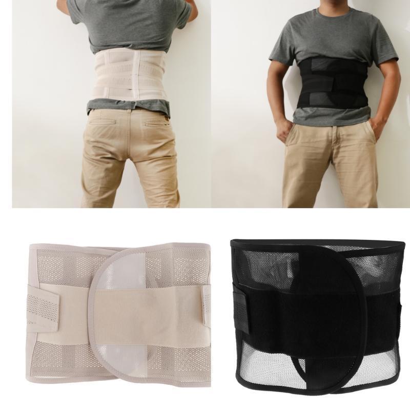 الرجال قابل للتعديل سحب مزدوج قطني الدعم تستجمع قواها / أسفل الظهر حزام الخصر المتقلب - لون مختلف الحجم