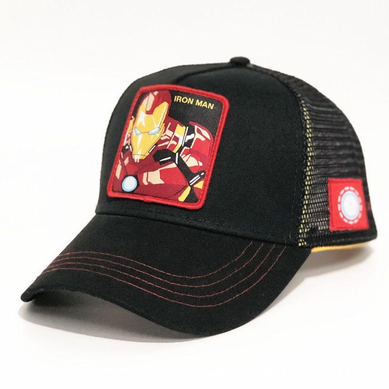 Fashion Baseball Caps Youth Mens Womens Visors Summer Mesh Sun Hats Embroidery Science Super Hero Casual Cap MARVEL Ball Hat