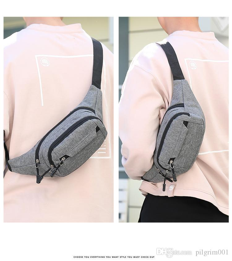 Soft Neutral Outdoor Causal Sport Beach Bag Messenger Crossbody Bag Chest Bag Mini Day Bag Travel Daypack Fashion Bag