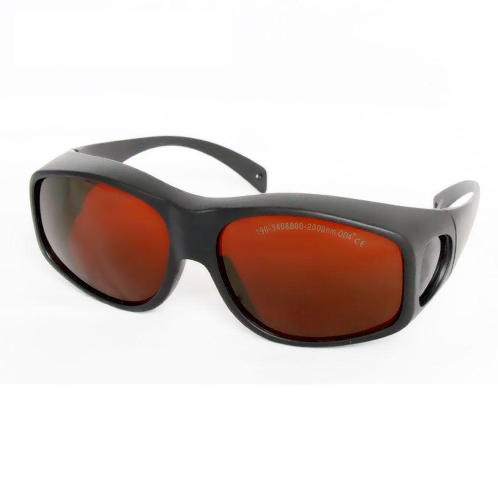 نظارات السلامة للحماية كليب ، حملق واقية من الليزر ، 200-540nm800-1700nm الامتصاص المستمر لتعديل المسار البصري ، إزالة الوشم