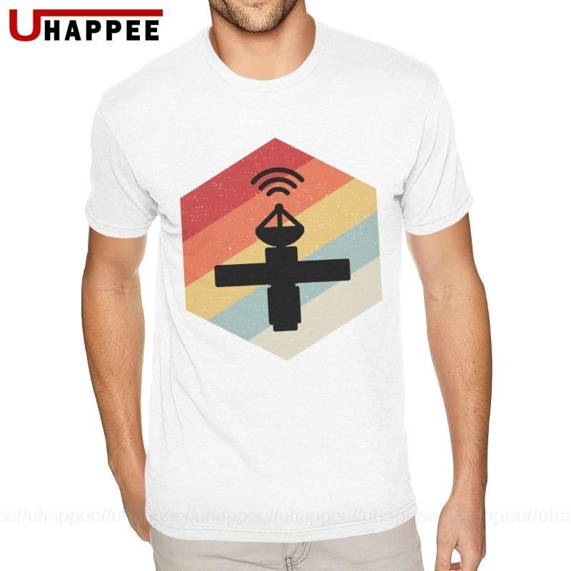 Espace satellite T-shirts T-shirt Gentlemen Bonne qualité T-shirt manches courtes hommes bas prix Marque Unique Apparel