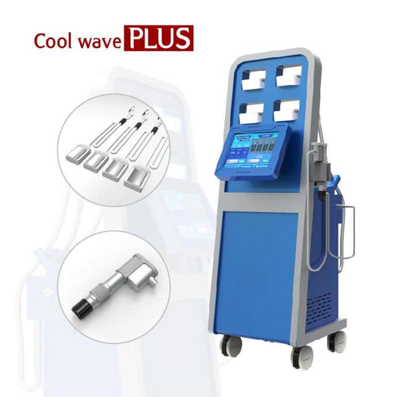 Yeni Geliş cryolipolysis kilo kaybı zayıflama makinesi CE vücut ağrının giderilmesi için şok dalgası physiothery cihazı kombine