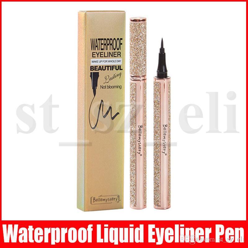 Eye Makeup Star Dazzling Liquid Eyeliner Pencil Makeup Waterproof Black Eye Liner Pencil Long lasting Easy to Wear Liquid Eyeliner