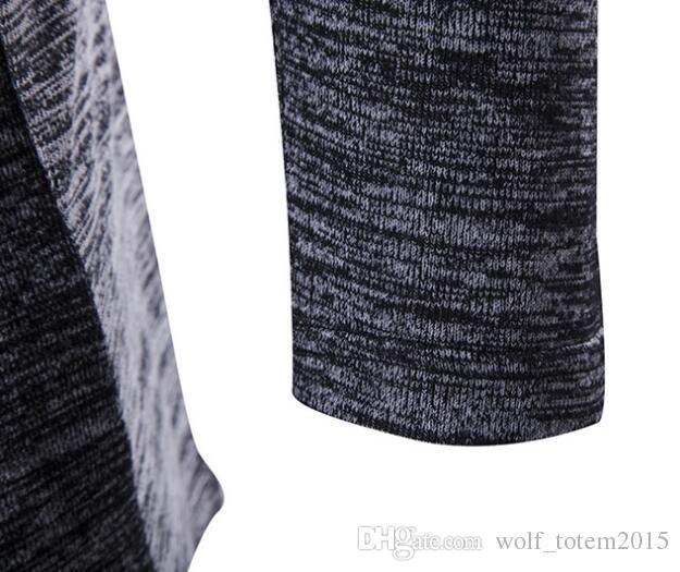 Großhandel Neue Europäische Und Amerikanische Herren Strickjacken Mit Langen Ärmeln Und Eine Große Auswahl An Hochwertigen Stoffen Sind Modisch Und