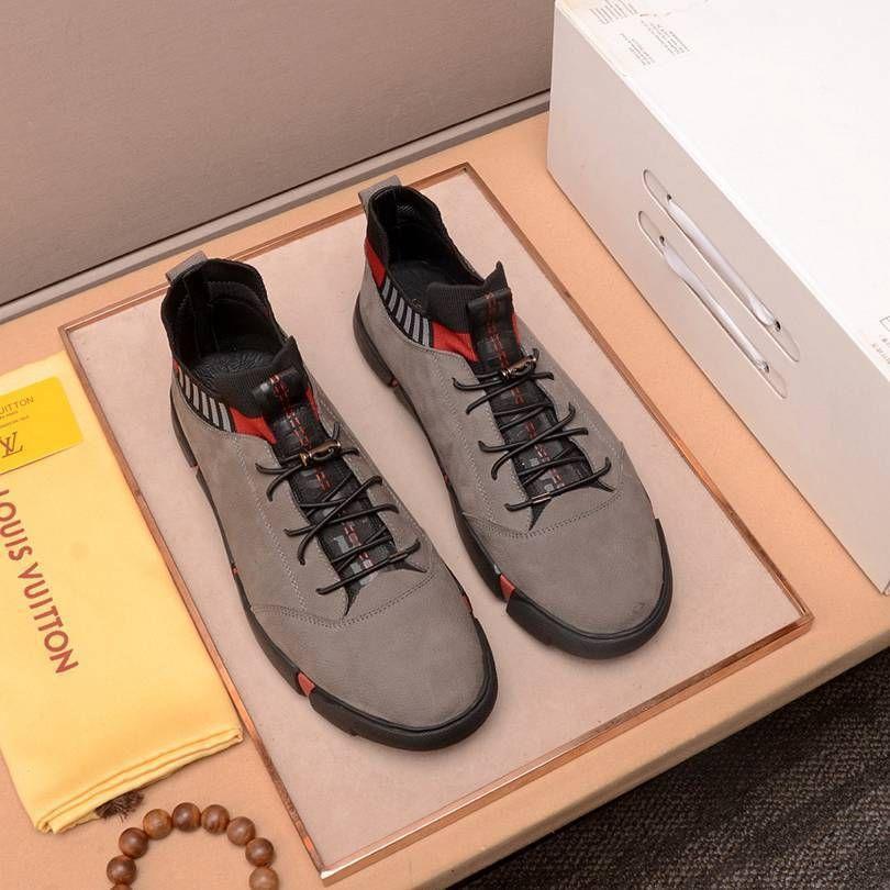 Nuovi Mens casuali di migliore modo confortevole, traspirante fondo piatto Sneakers 021.001