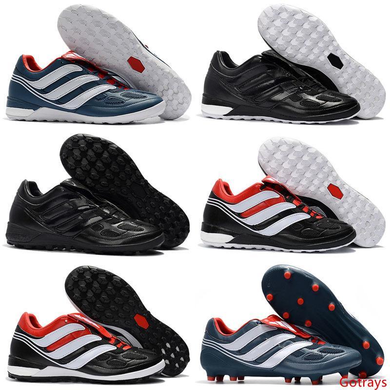 حار بيع 2019 جودة عالية المفترس هوس الشمبانيا الصقر 6 أحذية كرة القدم FG كرة القدم أحذية كرة القدم المرابط أحذية رياضية EUR 39-46