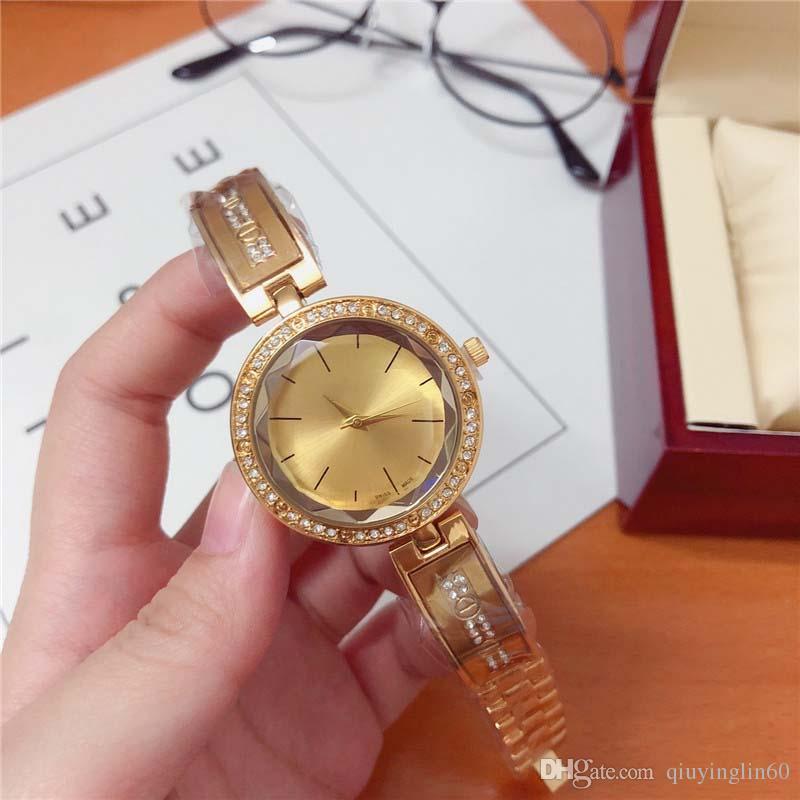 Женские кварцевые часы из нержавеющей стали # 817: Dor лучший подарок, модный стол, индивидуальный стиль, женские романтические часы