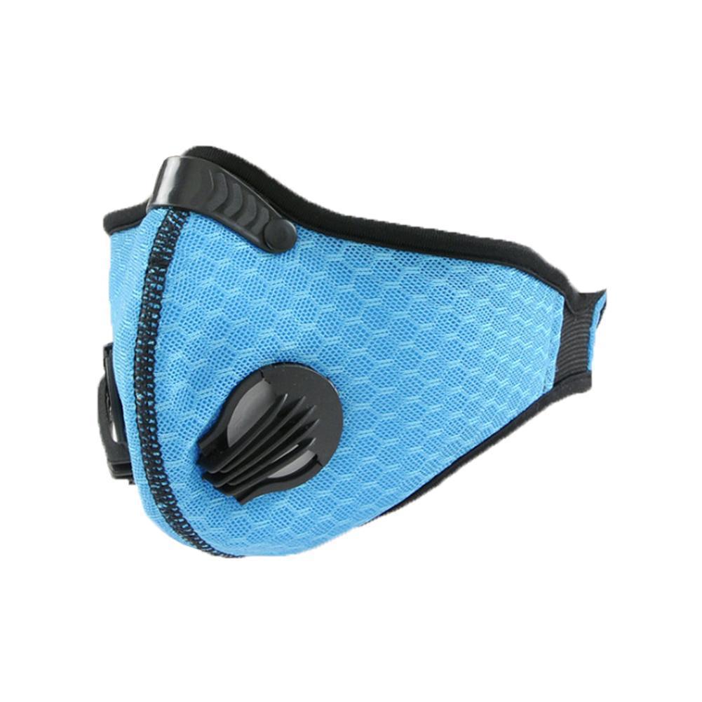 1 Stücke Gesichtsmaske Staubmaske Anti Verschmutzung PM2.5 Aktivkohle Filtereinsatz Kann Gewaschen Werden Wiederverwendbare Mundmasken