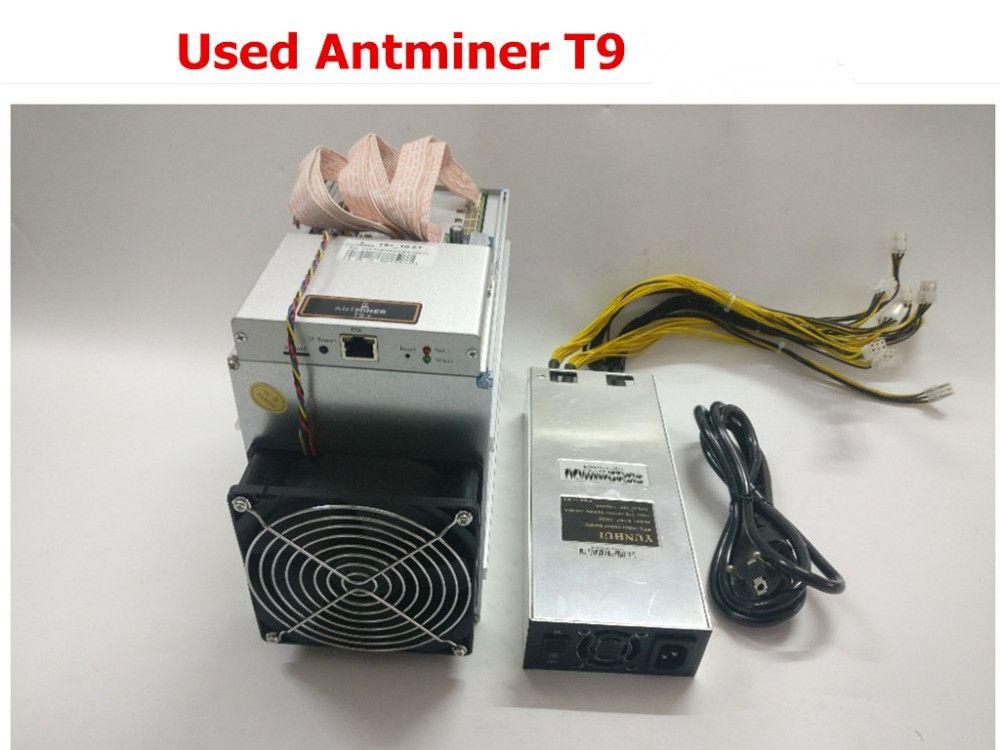 BTC BCH BITCOIN MINING BITMAIN ANTMINER S9 13 13.5 14TH//s WITH APW3+ PSU