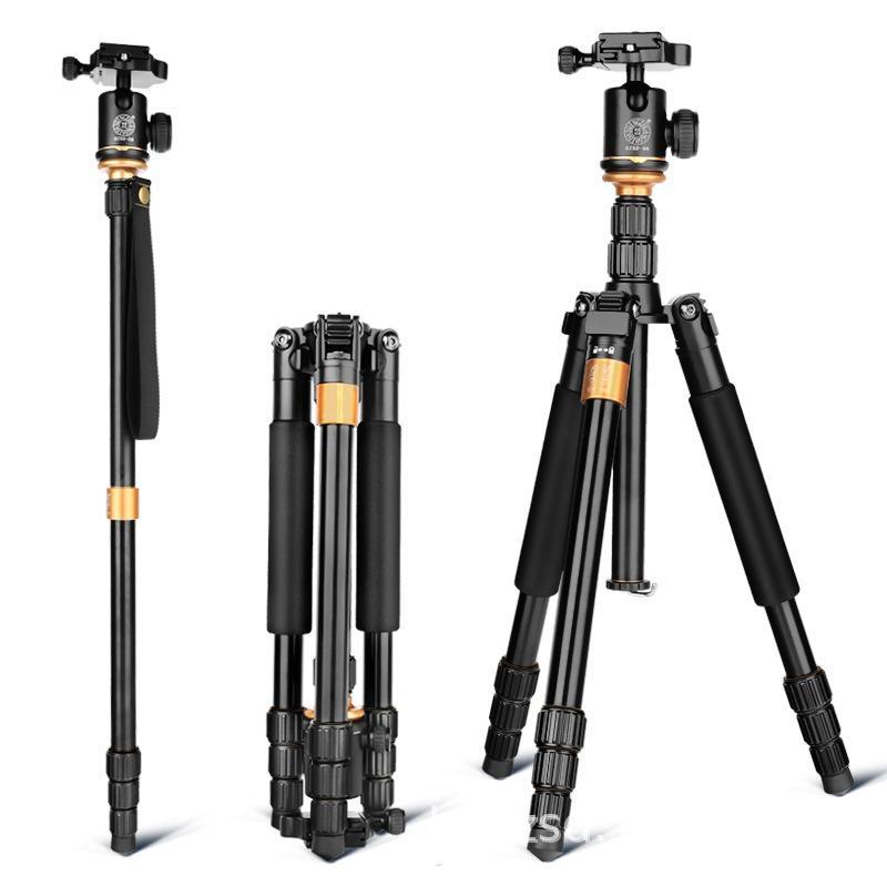 Q999S سبائك الألومنيوم قوس الهاتف المحمول معدات التصوير الفوتوغرافي ترايبود الكاميرا ترايبود