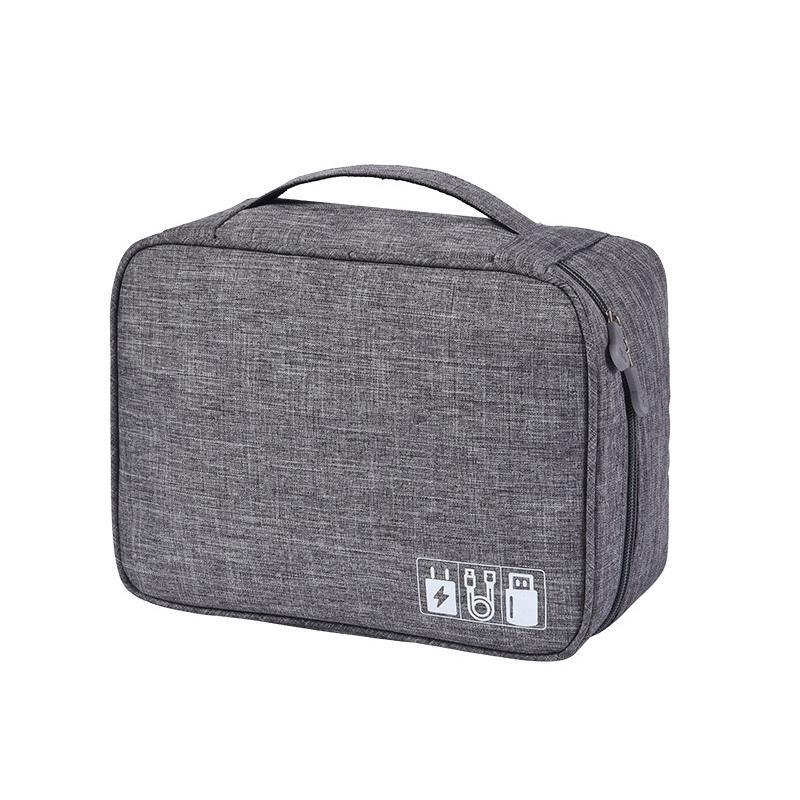 Hot organizzatori trucco Organizzatori dati Cosmetic Bag Linea caricabatterie impermeabili tesoro di carico Bag Bagno bagagli