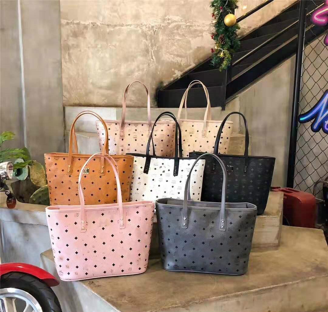 المصمم الشهير تصاميم عالية الجودة أكياس التسوق الكلاسيكية الزوج الأصلي من حقائب اليد حقيبة الزهور المقطوفة من الأم والطفل، وأكياس صغيرة تستخدم وحدها