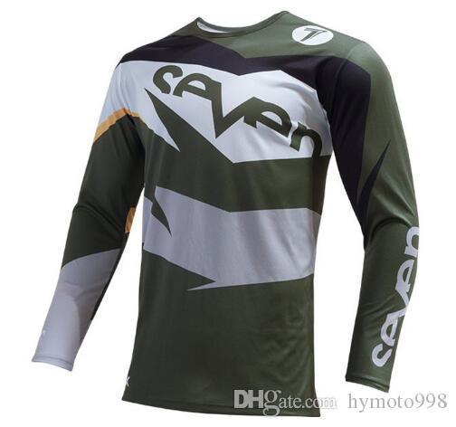2019seven mx motocross jersey sport wear clothe clothing shirt long sleeve cross mx moto gp mtb mountain bike