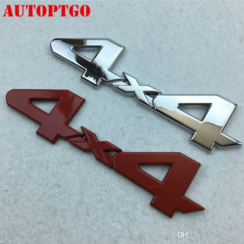 LIMITED for Ford Dodge JEEP Grand Cherokee 1x Black 4 X 4 3D Decal Emblem