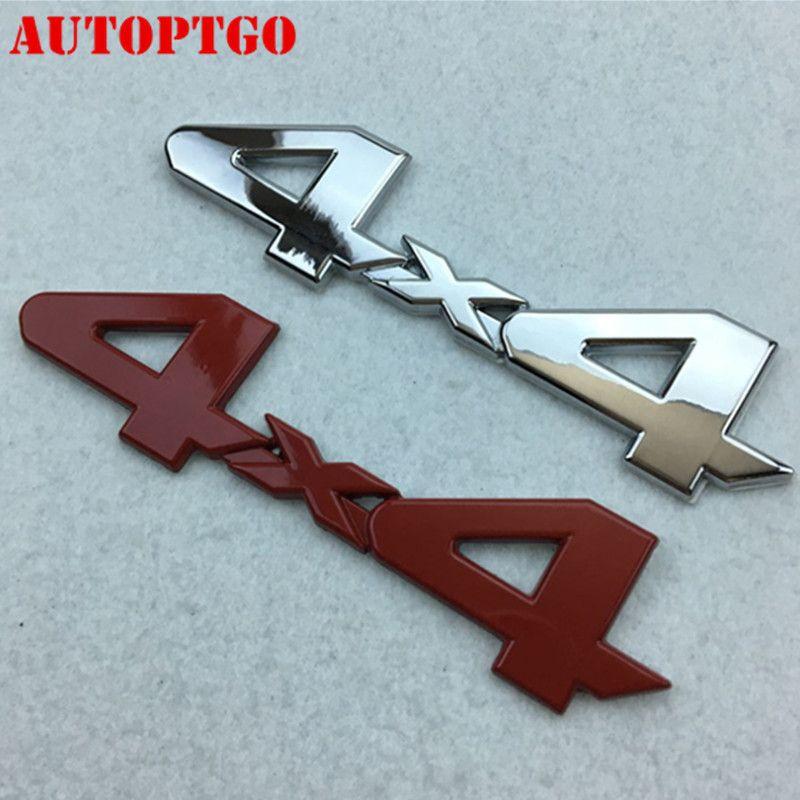 Matte Black ABS 4X4 Limited Car Logo Badge Emblem For JEEP Dodge Ford Truck