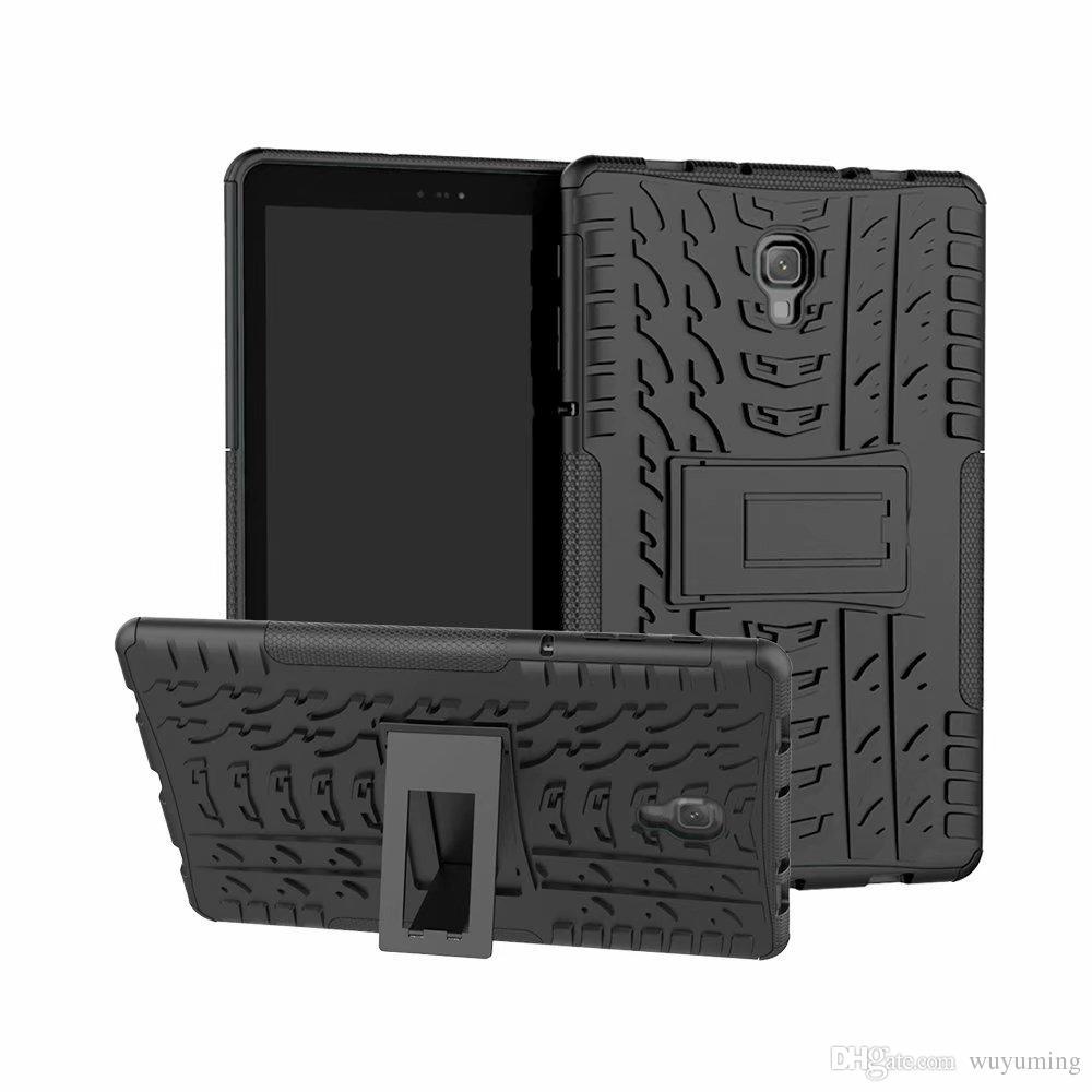 Heavy Duty Defender Rugged TPU + PC Dazzle KickStand Cubierta para Samsung Galaxy Tab A 10.5 T595 SM-T590 10.5 pulgadas Funda para tableta