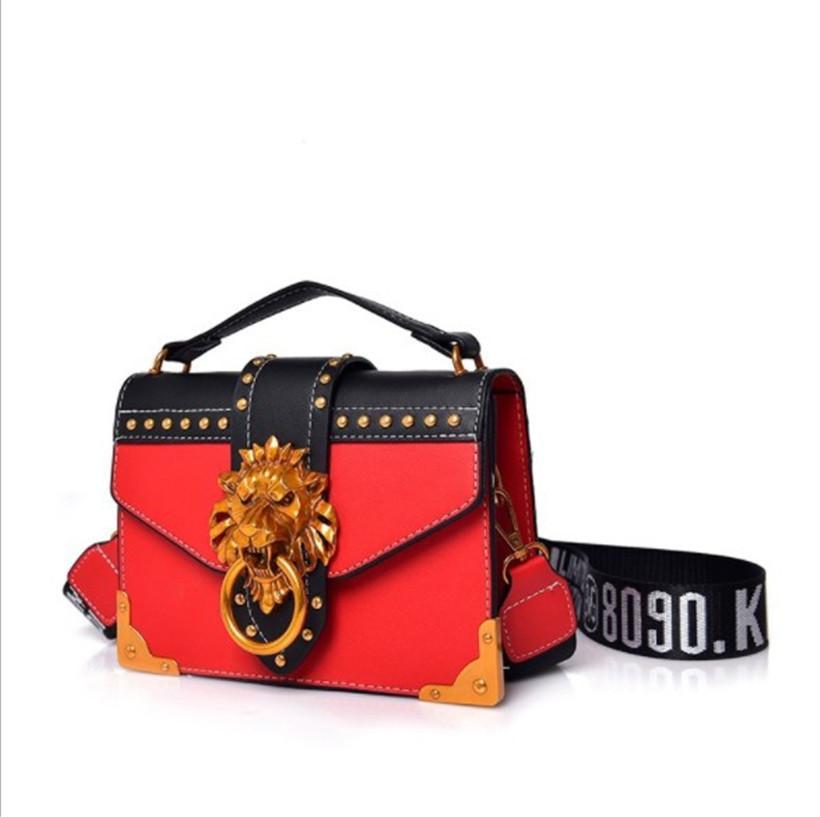 Sac à bandoulière de luxe de luxe HBP Mini petit sac à bandoulière carrée Bandbody embrayage Embrayage Femmes Designer Portefeuille Sacs à main Mode 4