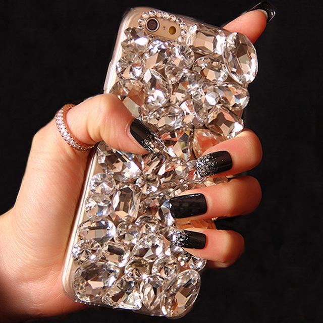 2018 New Fox Diamond Rhinestone Case Bling Phone Cover coque for Samsung Galaxy S9 S8 Plus A5 A7 J5 J7 2016 2017 A510 J530 J730