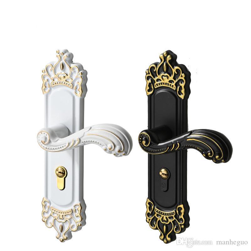 замок ручки межкомнатной двери алюминиевого сплава европейские замки двери спальни