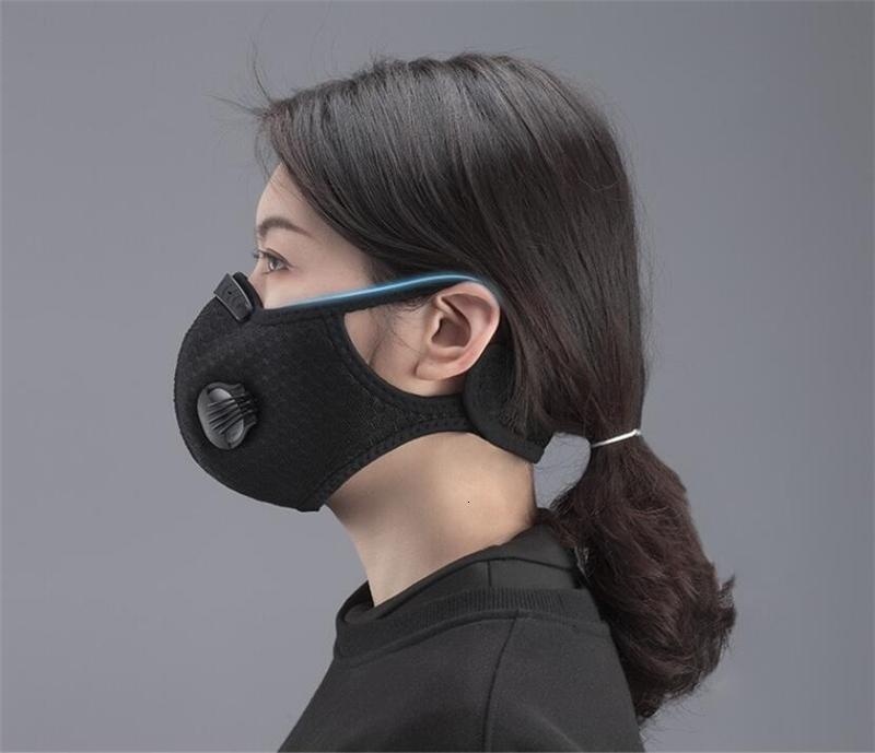 Свободный DHL корабль! 50 1Pcs Открытой безопасности fa3 Layers дышащего защитный рот маска Замена для взрослых QAXB6D