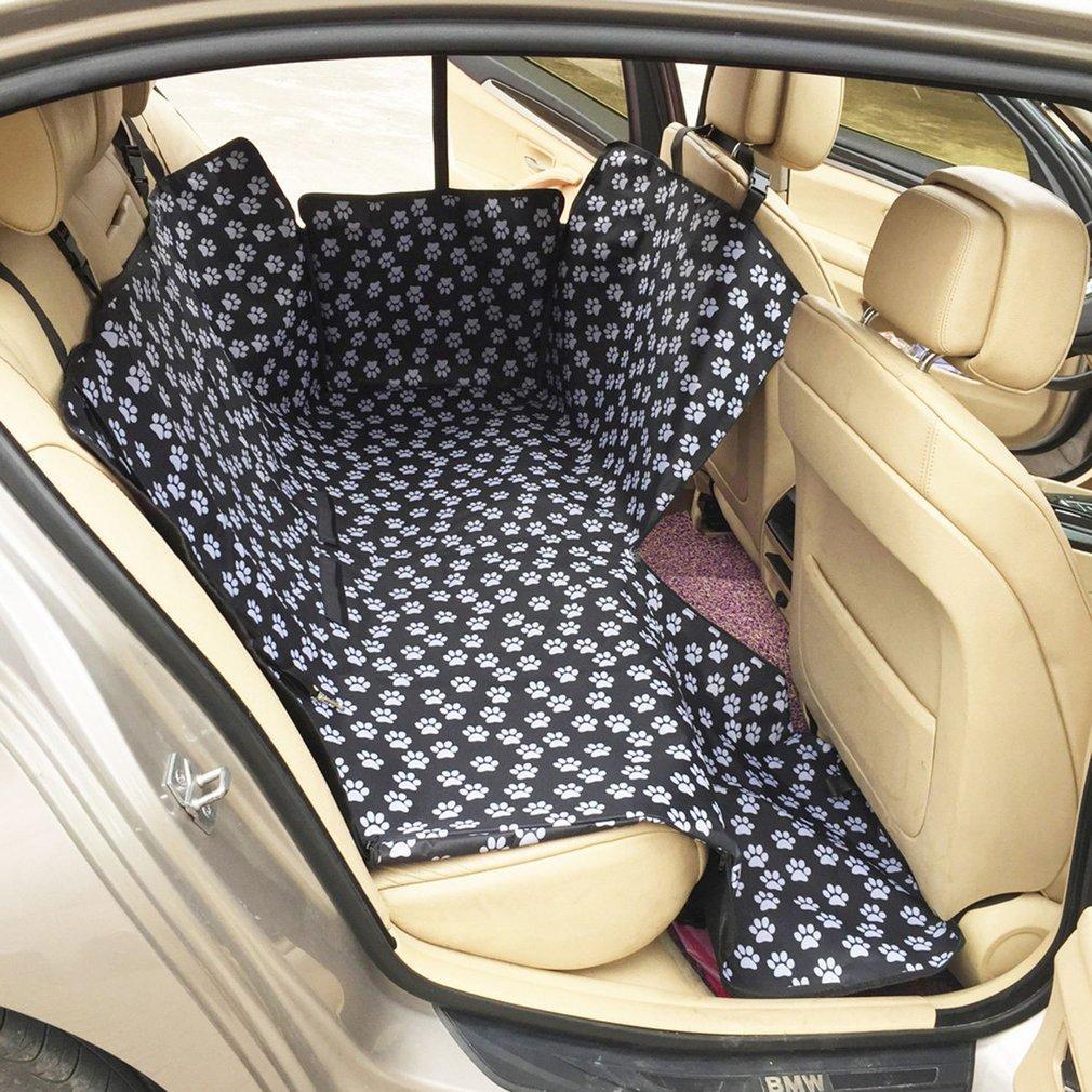 أكسفورد نسيج السيارات الحيوانات الأليفة يغطي مقعد نمط ماء مقعد المقعد الخلفي يغطي حصيرة الحيوانات الأليفة الناقلون اكسسوارات السفر