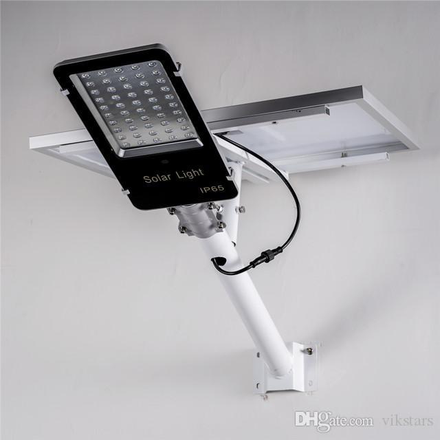 No Wring Solar Street Light Легкая установка LED Street Light Intelligent LED Solar Street Light 30W 50W