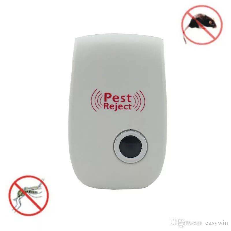 Electronic Ultrasonic Pest Repellent Pest Control Equipment for Repels Mosquito Bed Bugs Mice Flies Cockroaches Ants Spiders and Other Insec