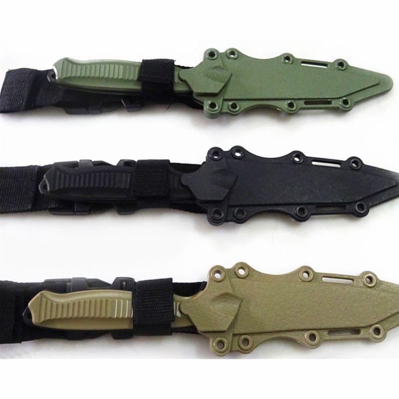 جديد لعب الآمن 1: 1 المتحمسون التكتيكية المطاط سكين التدريب العسكري CS تأثيري لعبة السيف أولا الدم الدعائم خنجر نموذج