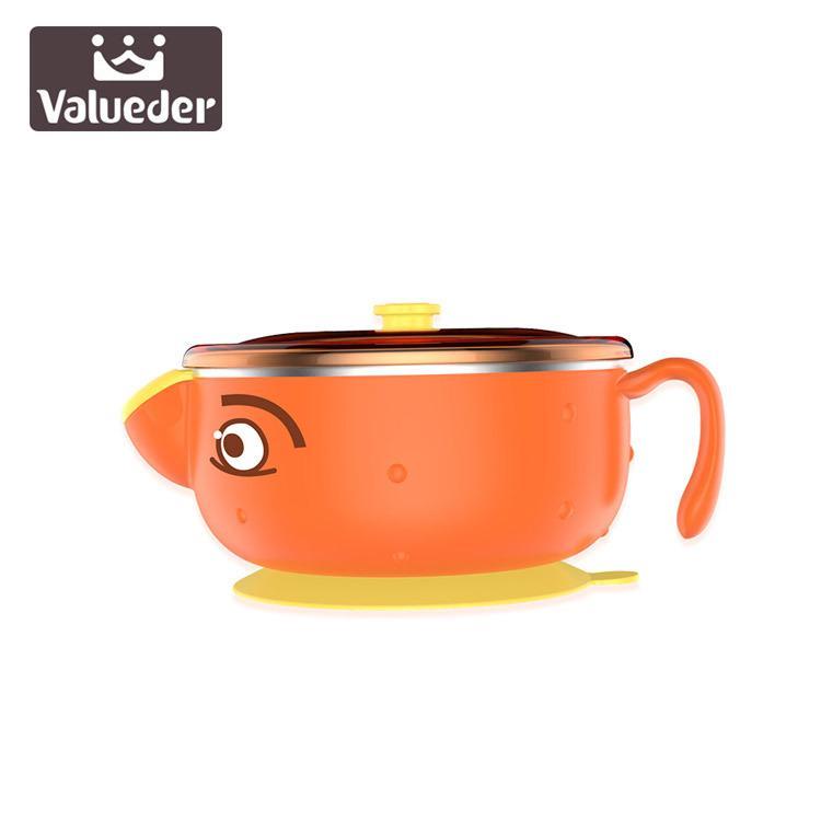 Wei Lun Seúl alimentación de los niños Vajilla infantil Inyección de Agua bebé térmica Suplemento de aislamiento tazón de acero inoxidable 304 de Alimentos