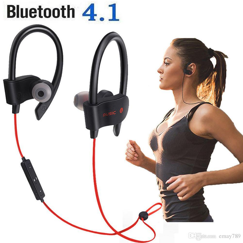 Bluetooth Headset Office Headset Neckband Sports Waterproof Stereo Wireless Headset Microphone For Iphone 6s 7plus S8 Universal Mobile Phone Bluetooth Headsets Bluetooth Earphones From Emay789 5 49 Dhgate Com