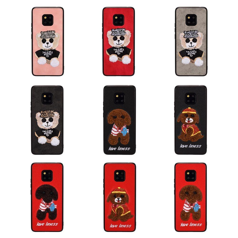 лучшая Новая дизайнерской бренд печати цветок новой вышивка телефон бухточка для Huawei мата 20 mate20 про NOVA 3 3I Honor8X 10 V20