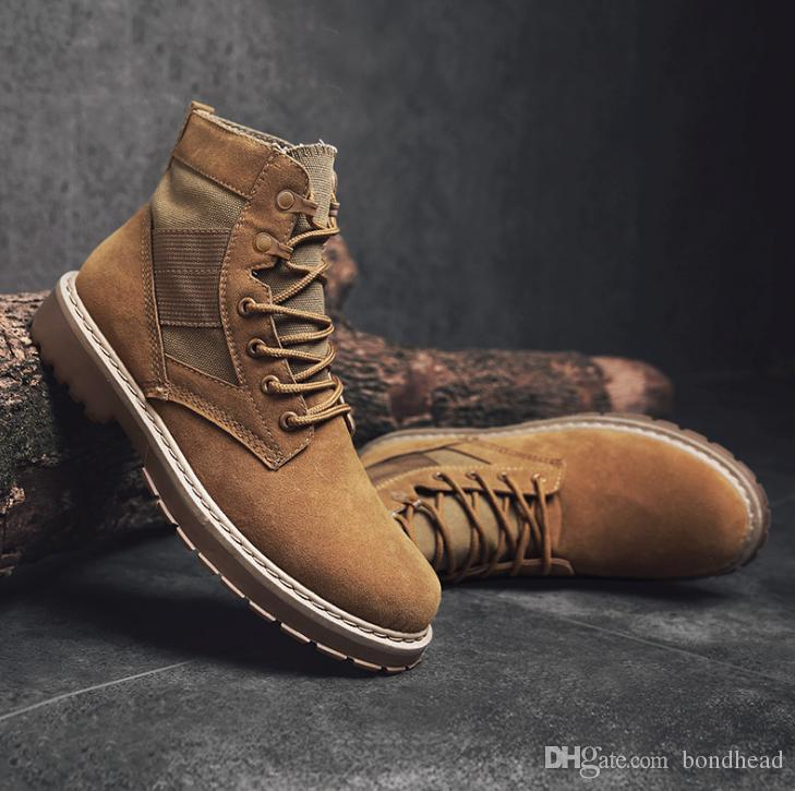 Mens Fashion Safety Shoes Work Shoes