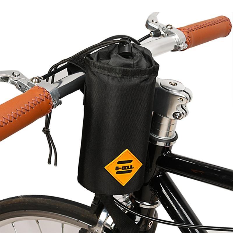 Guidão de Ciclismo portátil Guidão Saco Da Bicicleta Guidão Saco Da Haste Ao Ar Livre Bicicleta de Inverno Garrafa de Água Isolada Transportadora Bolsa