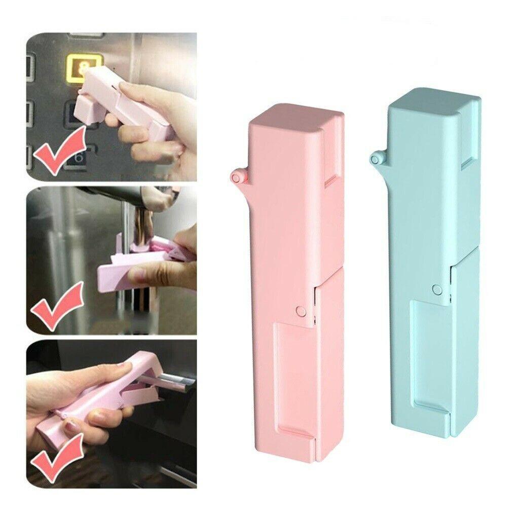 Portable Press ascensore strumento di pubbliche Luogo No Touch Open Door dispositivo dell'attrezzo di sicurezza Assist Strumenti 120pcs Press ascensore strumento CCA12147