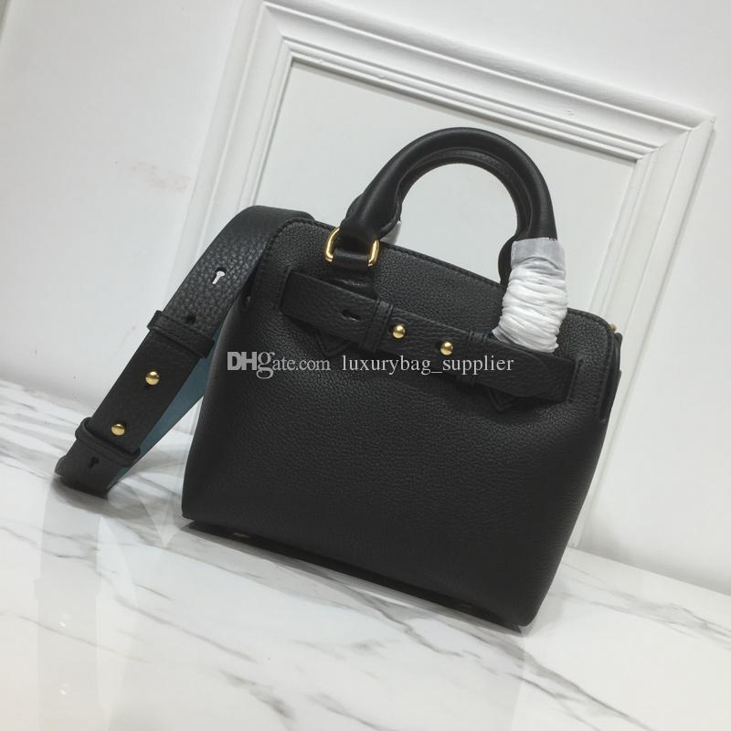 2019 Marca de moda de luxo designer sacos bolsas Designer bolsas New Style couro de alta qualidade macia Double-Sided alças largas Crossbody Bag
