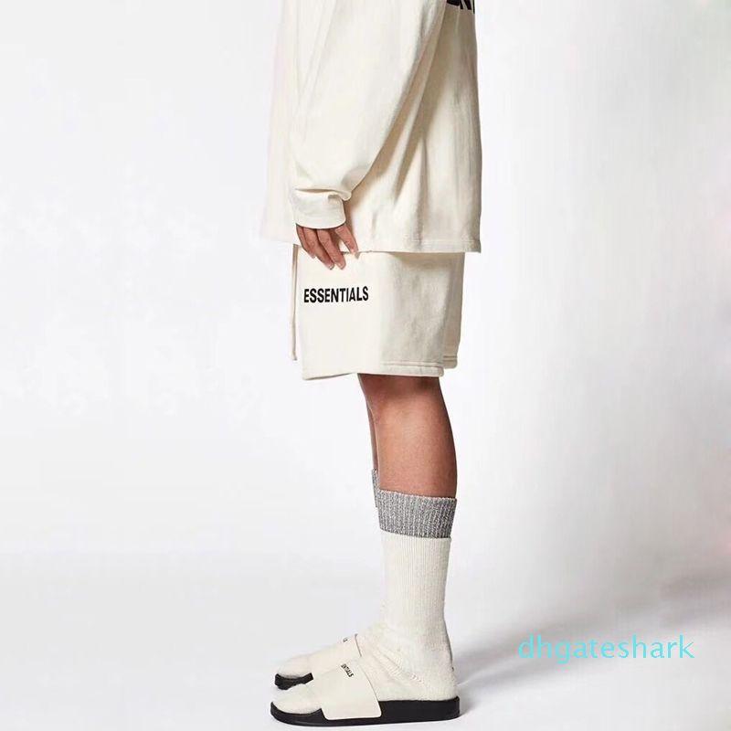 20 SS Vintage Shorts Luxus Straße Sommer-Breathable kühler Strand-kurze Hosen beiläufige Art und Weise loser Sport Männer Frauen Hosen ky08