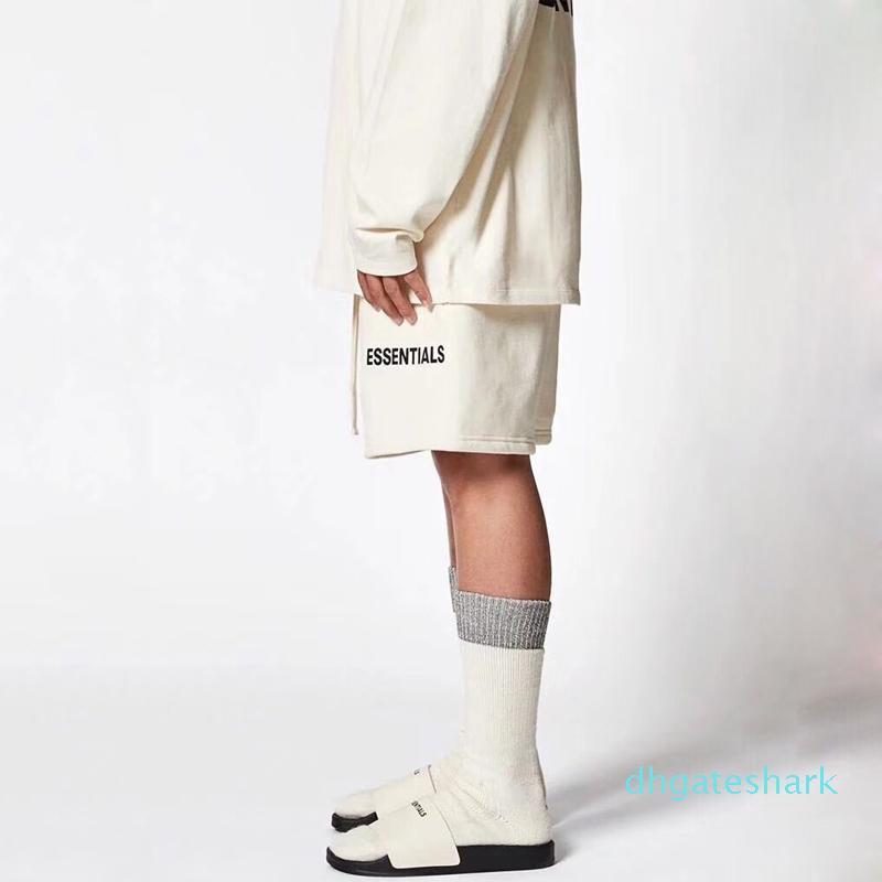 20 SS Vintage Şort Lüks Sokak Yaz Nefes Moda Günlük Gevşek Spor Erkek Kadın Pantolon ky08 Plaj Kısa Pantolon Soğuk